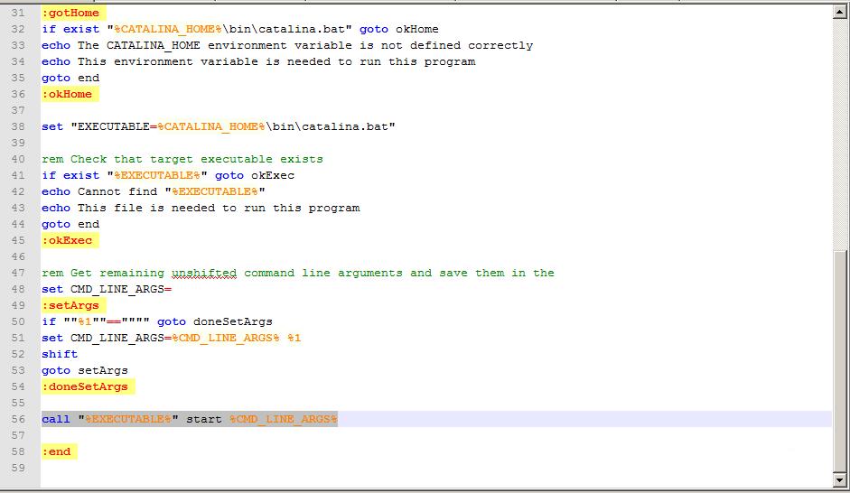 tomcat启动时DOS窗口一闪而过的解决方法